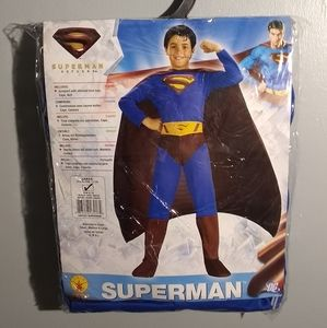 NWT Boy's Superman Halloween Costume